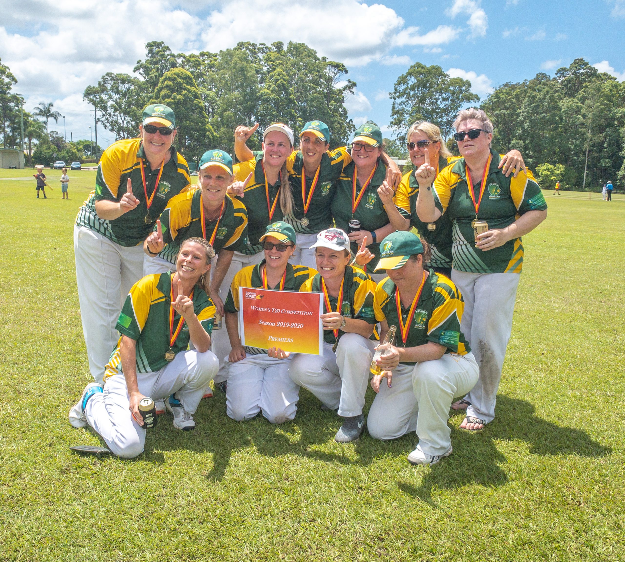 Yandina Sunshine Coast Women's Twenty20 premiers